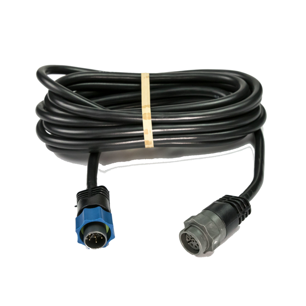 Transducer Extension Cable 12ft Blue 7 Pin for Lowrance SIMRAD