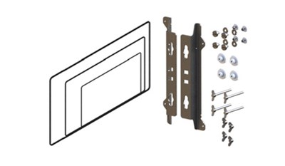 Rear mount bracket kit for MO16/19/24 monitors
