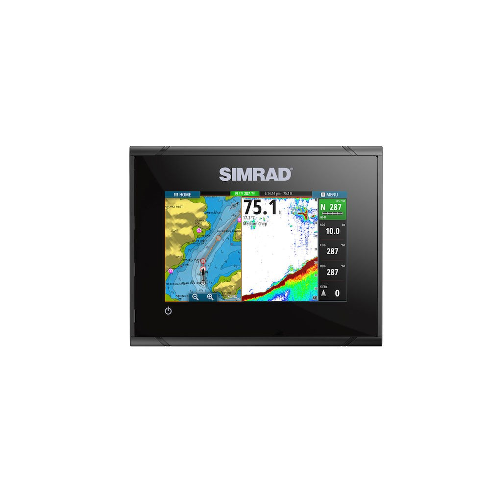 Go5 Xse With Basemap Chartplotter Fishfinder Simrad Usa Warn Mx 6000 Wiring Diagram Previous Span I