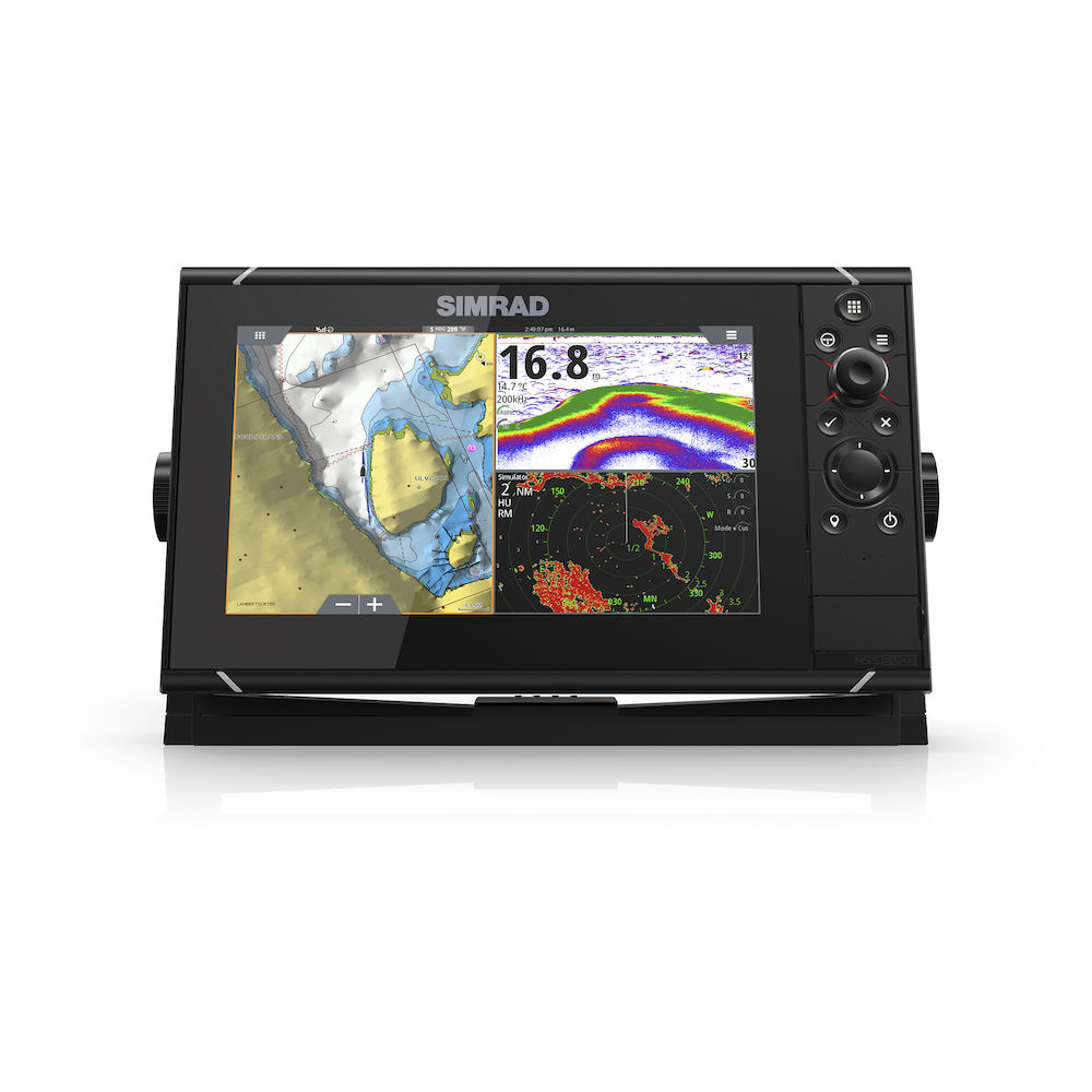 NSS9 evo3 With Insight Charts | Chartplotter/Fishfinder | Simrad USA -. Source · Jual Moto Mount Holder / Bracket for Gadget iPad, Dvd portable 7-9-