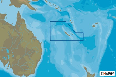 C-MAP MAX-N+ L: NEW CALEDONIA