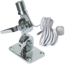 Stainless Steel Quickfit Antenna Mount with Cable