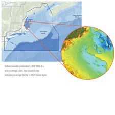 C-MAP REVEAL: GULF OF MAINE - CAPE COD - LONG ISLAND