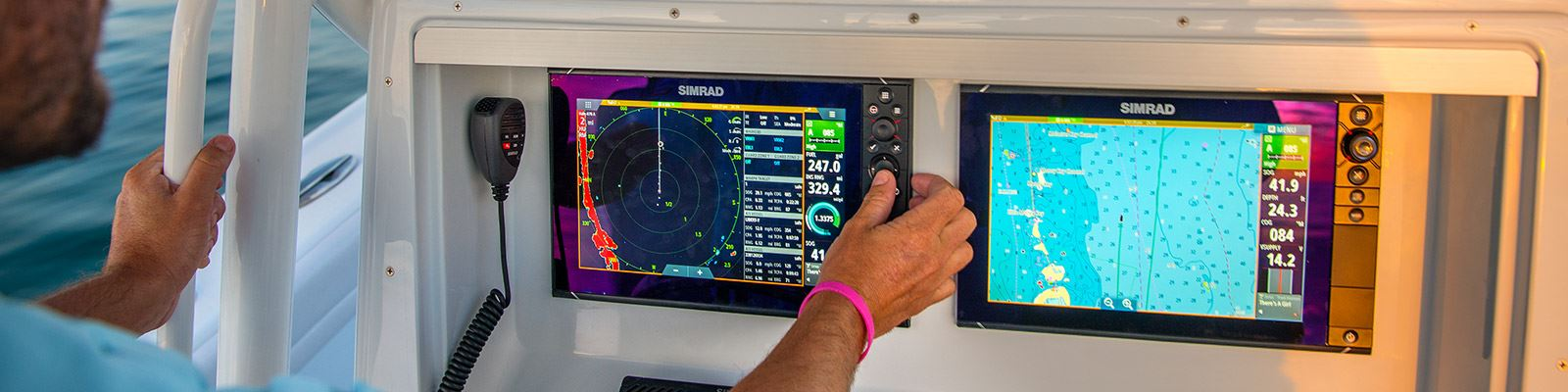 NSS12 evo3 with Insight charts & Broadband Radar | Simrad USA